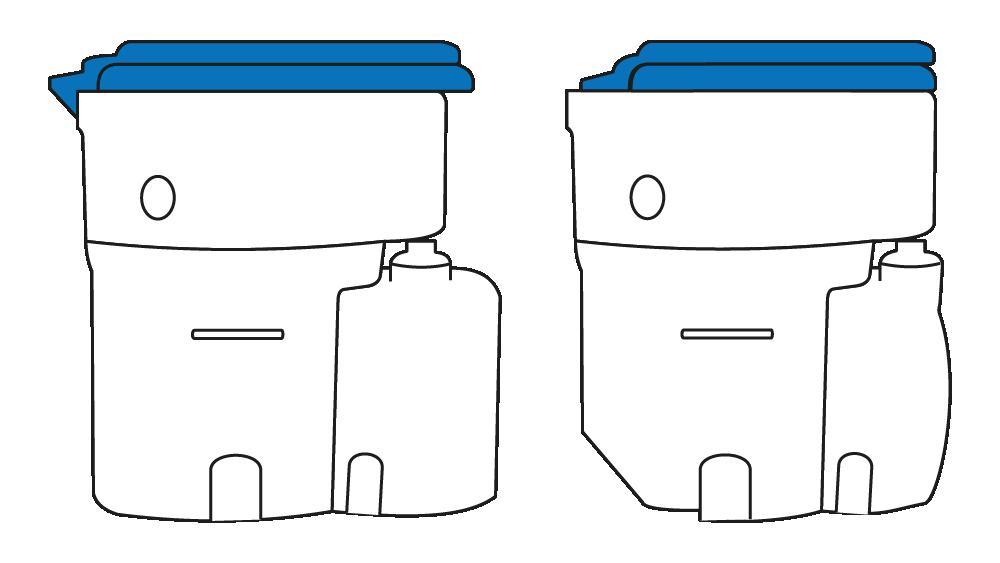 Vergleich Standard- und Marine-Sitz